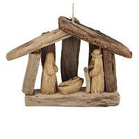 Driftwood Nativity - Nativity Set from Upcycled Driftwood