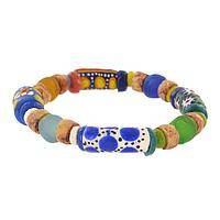 Sisters United, Never Divided - Recycled Glass Bead Bracelet
