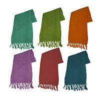 My Jaunty Silk Scarf - Rich Colors 100% Fair Trade Silk Scarf