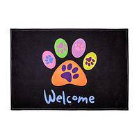 All Paws Welcome - Pet Friendly Welcome Mat