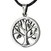 For All Eternity - Striking Sterling Silver Tree of Life Pendant Necklace