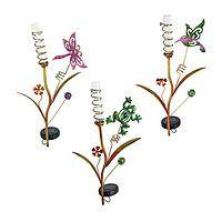 Garden Dreams - Playful Solar Powered Color Changing LEDs Garden Stakes