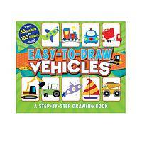 Easy-To-Draw Vehicles - Easy-To-Draw Vehicles Step-By-Step Drawing Book