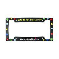 A Promise to Understand - Autism Awareness License Plate Frame
