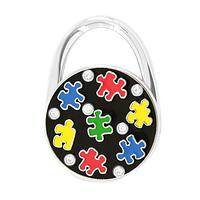 Hanging Out - Puzzle Piece Galore Convertible Purse Hanger