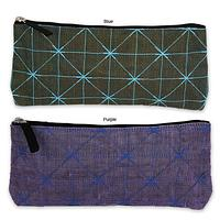 Off The Grid - Cosmetic Bag Hand-Crafted from Recycled Netting