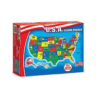 One Nation - 51 Piece U.S.A. Jumbo Floor Puzzle by Melissa & Doug