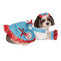 My Pretty - Wizard of Oz Dorothy Dog Costume by Rubie's Pet Shop