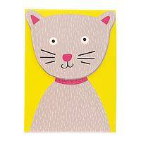 Furry Helper - 75 Page Cute Cat Purse Notes with Magnetic Closure