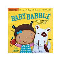 Baby Babble - Indestructibles Baby-Proof Educational Fun Book