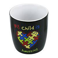 Parent's Pride - Amazing Child Autism Awareness Ceramic Mug