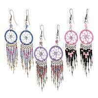 Dreamcatcher Earrings - Handcrafted Protection with Style