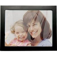 A Mother is a Friend - Mother's Love Frosted Black Frame for 8.5 x 6.75-Inch Photos