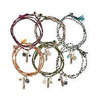 Dream Weaver - Handwoven Charm Bracelets with a Message of Inspiration