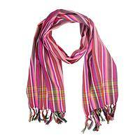 Silky Carnival Scarf - A Colorful and Vibrant Nairobi Carnival Scarf Accessory