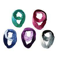 Infinite Gradiant - Ombre Dyed Loop Soft Infinity Scarf