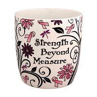 Garden of Support - Lush Strength Beyond Measure Pink Ribbon Mug