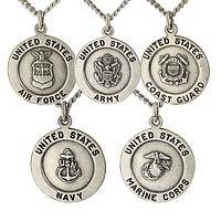By the Swords of Angels - Pewter St. Michael the Archangel Military Protection Medal