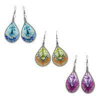 Thread of Style  - Colorful Handcrafted Peruvian Thread Earrings