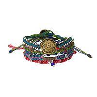 Mayan Creation Myth - Four-in-One Layered Legend Bracelet