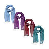 Ethereal Scarf - Luxury Silk Scarf in Four Colors