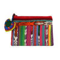 Recycled from the Rainbow - Upcycled Rainbow Coin Purse from Guatemala