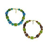Empowered  - Colorful Handcrafted Murano Glass Bead Necklace