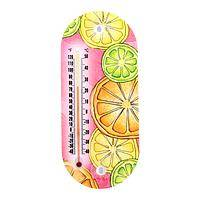 Summer Heat - Acrylic Thermometer With Cool Pastel Citrus Theme