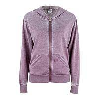 Paws Among The Heather - Lush Heathered Lavender Purple Paw Burnout Hoody