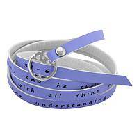 Proverbial Style - Trust In The Lord Wrap Bracelet