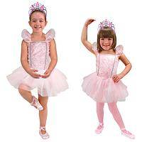 Ballerina Role Play Costume - Melissa & Doug 5-Piece Set for Ballet Dance