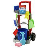 Good Clean Fun! - Little Helper's Cleaning Trolley by Theo Klein