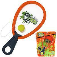 Max Boom Paddle Ball  - Poof Slinky Set for Tethered Ball and Paddle Fun