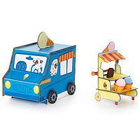 Sweet Sundaes Ice Cream Truck 3-D Playtown Creativity Kit