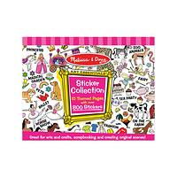 Pink Sticker Collection Book - 800 Melissa & Doug Stickers for Arts and Crafts Fun