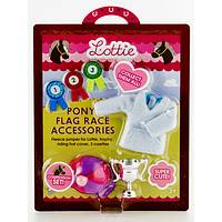 Champion Pony! - Lottie Flag Race Competition Accessory Set by Schylling