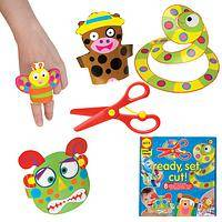 Ready, Set, Cut! - Alex Toys Craft Set for Safe Paper Fun