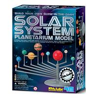 4M Solar System Planetarium - Toysmith Glow in the Dark Sun and Planets