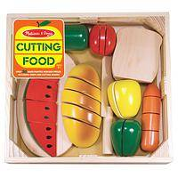 Cutting Food Wooden Food Play Set