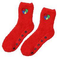 Autism Awareness Slipper Socks