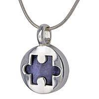 Piece of the Puzzle Sodalite & Sterling Necklace