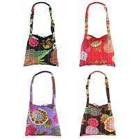 Hand Stitched Kantha Hobo Bag