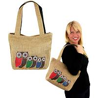 Three Owl Tote