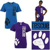 Distressed Paw Rescue T-Shirt