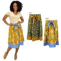 Batik Prairie Skirt