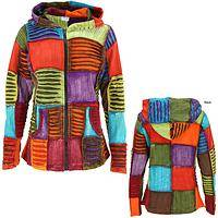 Coat of Many Colors Patchwork Jacket