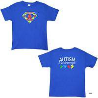 Autism Is My Superpower Youth T-Shirt