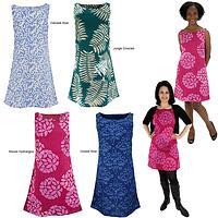 Hand Batiked A-line Dress