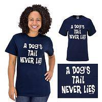 Dog's Tail Never Lies T-Shirt