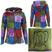 For the Love of Dog Patchwork Jacket